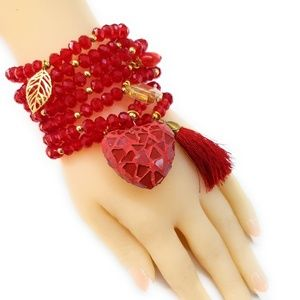 Jewelry - Handmade bracelets crystal gold plated Semanario